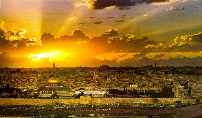 israel discovery tours jerusalem sunset